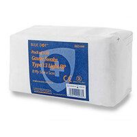 Click Medical Blue Dot 5 x 5cm Non-Sterile Gauze Swabs Pack of 100 Ref CM0450