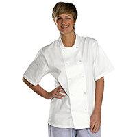Click Workwear Short Sleeve Chefs Jacket Size XL White Ref CCCJSSWXL