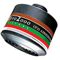 Scott Safety Pro 2000 CF32 A2B2E2K2-HgP3 Combination Filter 40mm Thread Grey Ref 5542798