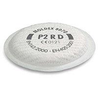Moldex 8070 P2 R D Filter White Ref M8070 [4 Pairs]