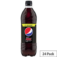 Pepsi Max Cola 600ml Bottles (Pack of 24)