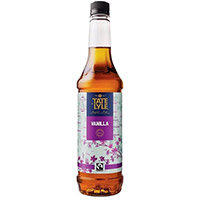 Tate and Lyle 750ml Gourmet Beverage Syrup Vanilla Pack of 4