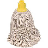 Robert Scott & Sons Socket Mop for Rough Surfaces PY 16oz Yellow Ref PJTYL1610 [Pack 10]