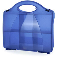 Click Medical Eclipse Box Blue with Partitions Ref CM1020