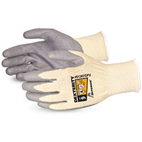 Superior Glove Dexterity PU Palm-Coated Cut-Resistant 8 Grey Ref SUS13KFGPU08