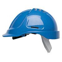 Scott Safety Style 600 HC600 Vented Helmet with Terylene Standard Headgear Blue Ref HC600VB