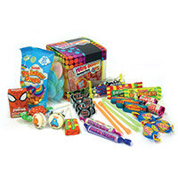 Chewbz Retro Sweets Cube Assorted 300g Box
