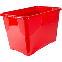 Strata Curve Box 65 Litre Red Ref XW203B-RED