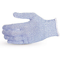 Superior Glove Sure Knit Cut-Resistant Food Industry Glove M Blue Ref SUS10SXBM