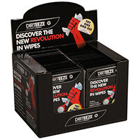 Dirteeze Rough & Smooth Wipes Twin Sachet Pack Ref DZRS2 [50 Wipes x2]