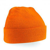 Click Workwear Beanie Cap Orange Ref WHOR