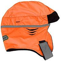 Scott Safety High Vis Zero Hood Safety Helmet Winter Liner Orange Ref HXZHHO