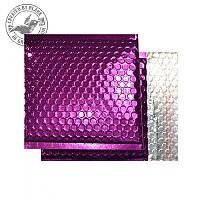 Purely Packaging Padded Envelope P&S CD Metallic Purple Ref MBPUR165 [Pk 100]