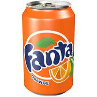 Fanta 330ml Orange Soft Drink Pack of 24 Cans