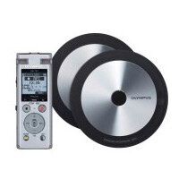 Bundle: Olympus DM-720 Meet and Record Kit Large