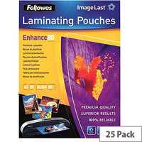Fellowes Laminating Pouch 80 Micron A3 Ref 5396403 (Pack of 25)