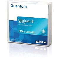 Quantum LTO-6 Data Tape 2500GB Native/ 6.25TB Compressed
