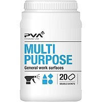 PVA Multi-purpose Cleaner Dissolving Sachets Citrus Ref 4018002 [Pack 20]