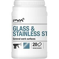 PVA Glass & Stainless Steel Dissolving Cleaner Sachets Citrus [Pack 20] Ref 4018018