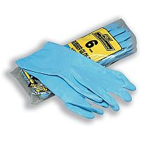 Robinson Young Rubber Gloves Medium Pair Ref 0068 Pack 6 174028