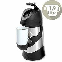 Pump Vacuum Jug 1.9 Litre Stainless Steel Dishwasher Safe
