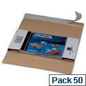 CD Jewel Case Mailer Self Adhesive Tear-Off Strip DL 225x125x12mm Ref 146180161 Pack 50 193898