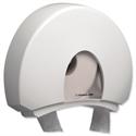 Kimberly Clark Aqua Jumbo Toilet Paper Dispenser White 6987