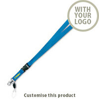Duble lanyard 198378 - Customise with your brand, logo or promo text