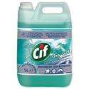 Cif Oxygel Multipurpose Cleaner Professional Active Oxygen Ocean Spray 5 Litre 7510015