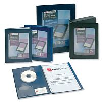 Rexel Clearview 24 Pockets Display Book A4 Blue 10320BU