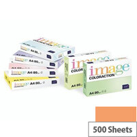 Image Coloraction Deep Orange Amsterdam A4 Paper 80gsm Pack of 500
