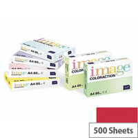 Image Coloraction Chile Deep Red A4 Paper 80gsm Pack of 500