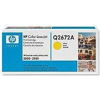 HP 309A Yellow LaserJet Toner Cartridge Q2672A