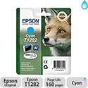 Epson T1282 Cyan Ink Cartridge Fox Series