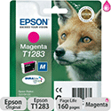 Epson T1283 Magenta Ink Cartridge Fox Series T12834010