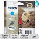Epson T0612 Cyan Ink Cartridge
