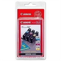 Canon CLI-526 C/M/Y ( 4541B006 ) 3 Colours: Cyan, Magenta, Yellow Ink Cartridge Original