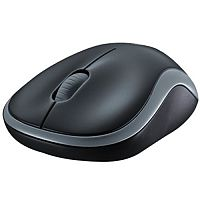 Logitech M185 Wireless Mouse Optical 2.4 GHz Grey