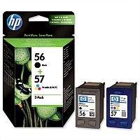HP 56 Black 57 Colour Ink Cartridges Twin Pack SA342AE