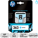 HP 363 Light Cyan Inkjet Cartridge C8774EE-ABB
