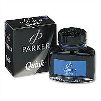 Parker Quink Ink Bottle Blue Permanent 57ml S0037470