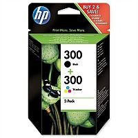 HP 300 Black & Colour Inkjet Cartridge Twin Pack CN637EE