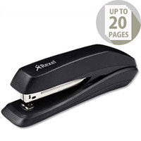 Rexel Sirius Stapler Full Strip Black