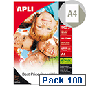 Apli Best Price A4 Photo Paper Glossy 140gsm 100 Sheets