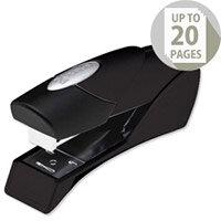 Rexel Gazelle Stapler Half Strip Metallic Black