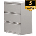 Bisley 3 Drawer Side Filing Cabinet Goose Grey SF3N