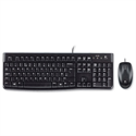 Logitech MK120 Keyboard Wired USB with Optical Mouse Combo 920-002552