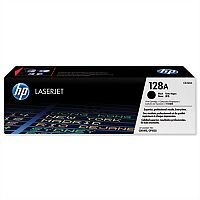 HP 128A Original Black Laser Toner Cartridge CE320A