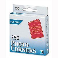Photo Corners Clear Self Adhesive Pack 250
