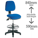 Checkout Chair Blue Trexus